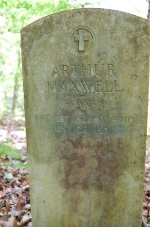 MAXWELL (VETERAN), ARTHUR - Lincoln County, Arkansas | ARTHUR MAXWELL (VETERAN) - Arkansas Gravestone Photos