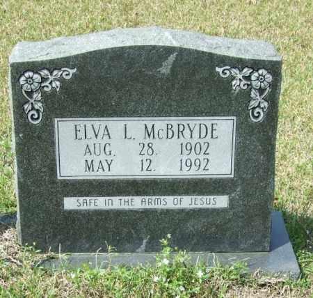 MCBRYDE, ELVA L - Lincoln County, Arkansas | ELVA L MCBRYDE - Arkansas Gravestone Photos