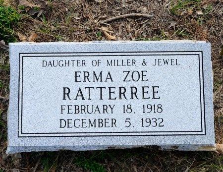 RATTEREE, ERMA ZOE - Lincoln County, Arkansas | ERMA ZOE RATTEREE - Arkansas Gravestone Photos