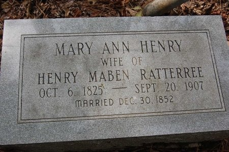 RATTERREE, MARY ANN - Lincoln County, Arkansas | MARY ANN RATTERREE - Arkansas Gravestone Photos