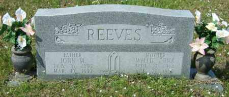 REEVES, JOHN M - Lincoln County, Arkansas | JOHN M REEVES - Arkansas Gravestone Photos