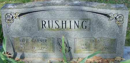 RUSHING, A B - Lincoln County, Arkansas | A B RUSHING - Arkansas Gravestone Photos