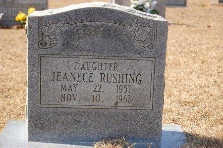 RUSHING, JEANECE - Lincoln County, Arkansas | JEANECE RUSHING - Arkansas Gravestone Photos