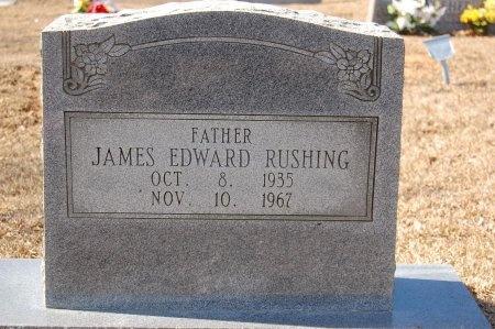 RUSHING, JAMES EDWARD - Lincoln County, Arkansas | JAMES EDWARD RUSHING - Arkansas Gravestone Photos