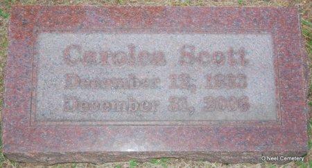 SCOTT, CAROLEA - Lincoln County, Arkansas | CAROLEA SCOTT - Arkansas Gravestone Photos
