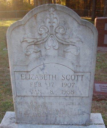 SCOTT, ELIZABETH - Lincoln County, Arkansas | ELIZABETH SCOTT - Arkansas Gravestone Photos