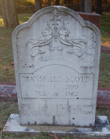 SCOTT, MANSFIELD - Lincoln County, Arkansas | MANSFIELD SCOTT - Arkansas Gravestone Photos