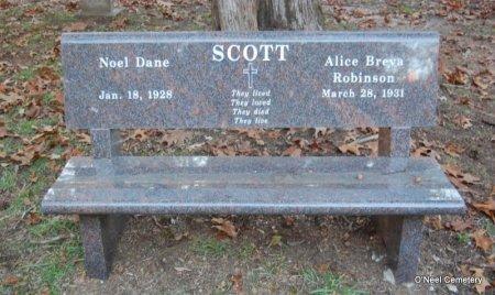 SCOTT, ALICE BREVA - Lincoln County, Arkansas | ALICE BREVA SCOTT - Arkansas Gravestone Photos