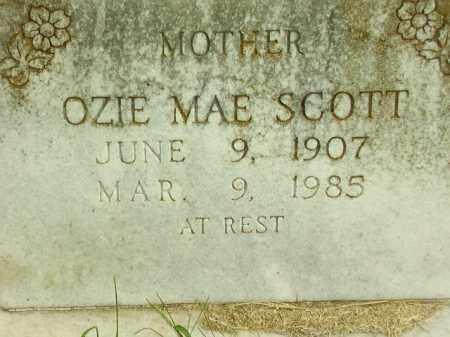 SCOTT, OZIE MAE - Lincoln County, Arkansas | OZIE MAE SCOTT - Arkansas Gravestone Photos