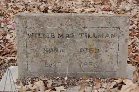 TILLMAN, WILLIE MAE - Lincoln County, Arkansas | WILLIE MAE TILLMAN - Arkansas Gravestone Photos