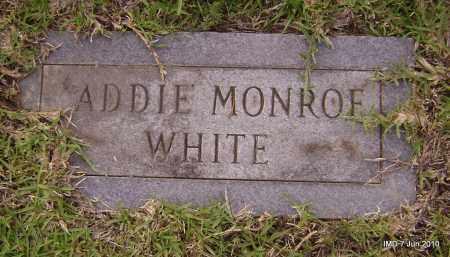 WHITE, ADDIE - Lincoln County, Arkansas | ADDIE WHITE - Arkansas Gravestone Photos