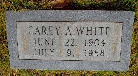 WHITE, CAREY A - Lincoln County, Arkansas   CAREY A WHITE - Arkansas Gravestone Photos