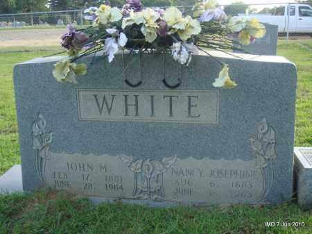 WHITE, JOHN M - Lincoln County, Arkansas | JOHN M WHITE - Arkansas Gravestone Photos