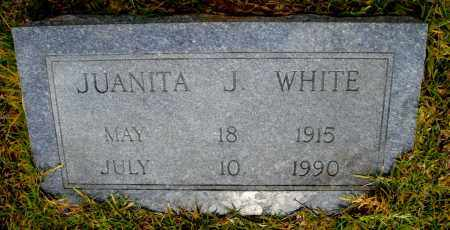 WHITE, JUANITA J - Lincoln County, Arkansas | JUANITA J WHITE - Arkansas Gravestone Photos
