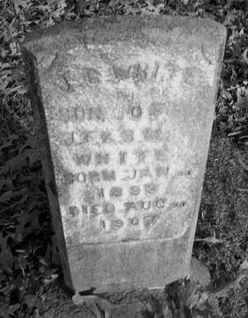 WHITE, J G - Lincoln County, Arkansas | J G WHITE - Arkansas Gravestone Photos