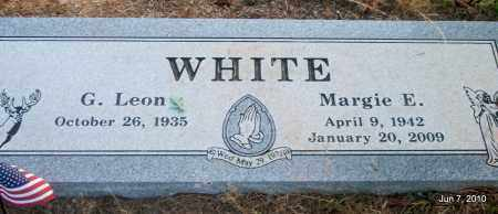 WHITE, MARGIE E - Lincoln County, Arkansas | MARGIE E WHITE - Arkansas Gravestone Photos