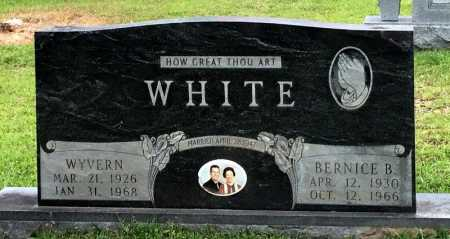 WHITE, WYVERN - Lincoln County, Arkansas | WYVERN WHITE - Arkansas Gravestone Photos