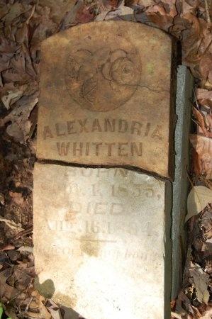 WHITTEN, ALEXANDRIA - Lincoln County, Arkansas   ALEXANDRIA WHITTEN - Arkansas Gravestone Photos