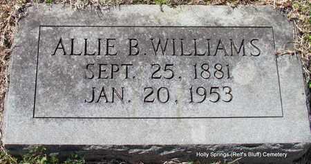 WILLIAMS, ALLIE B - Lincoln County, Arkansas   ALLIE B WILLIAMS - Arkansas Gravestone Photos