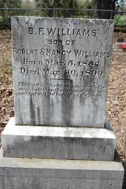 WILLIAMS, B - Lincoln County, Arkansas | B WILLIAMS - Arkansas Gravestone Photos