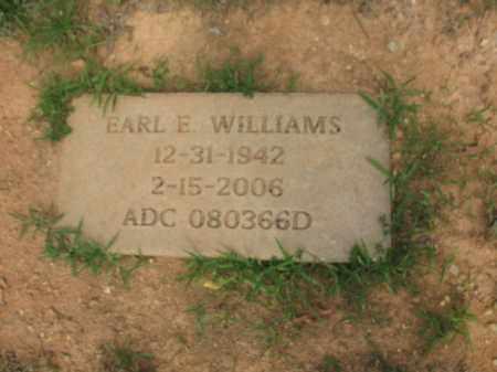 WILLIAMS, EARL E. - Lincoln County, Arkansas   EARL E. WILLIAMS - Arkansas Gravestone Photos