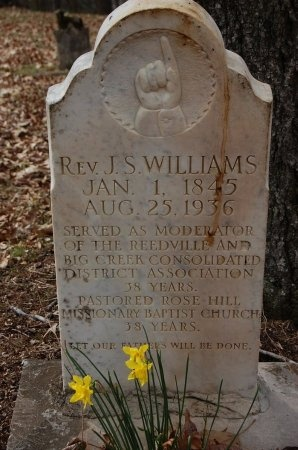 WILLIAMS, J. S. - Lincoln County, Arkansas | J. S. WILLIAMS - Arkansas Gravestone Photos
