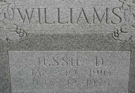 WILLIAMS, JESSIE D. - Lincoln County, Arkansas | JESSIE D. WILLIAMS - Arkansas Gravestone Photos