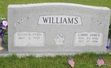 WILLIAMS, LARRY JAMES - Lincoln County, Arkansas   LARRY JAMES WILLIAMS - Arkansas Gravestone Photos
