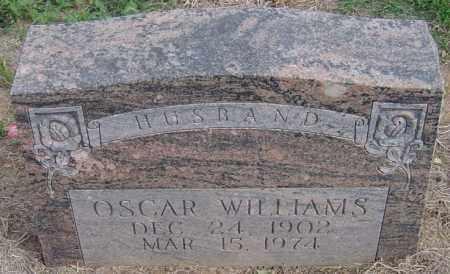 WILLIAMS, OSCAR - Lincoln County, Arkansas   OSCAR WILLIAMS - Arkansas Gravestone Photos