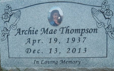 THOMPSON, ARCHIE MAE - Little River County, Arkansas | ARCHIE MAE THOMPSON - Arkansas Gravestone Photos