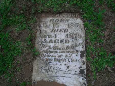 ADCOCK, A W - Little River County, Arkansas   A W ADCOCK - Arkansas Gravestone Photos