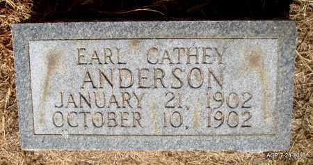 ANDERSON, EARL CATHEY - Little River County, Arkansas | EARL CATHEY ANDERSON - Arkansas Gravestone Photos