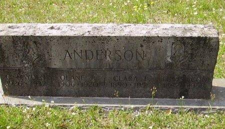 ANDERSON, CLARA LUGENE - Little River County, Arkansas   CLARA LUGENE ANDERSON - Arkansas Gravestone Photos