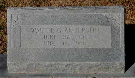 ANDERSON, WALTER G - Little River County, Arkansas | WALTER G ANDERSON - Arkansas Gravestone Photos