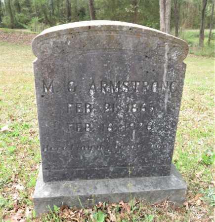 ARMSTRONG, M G - Little River County, Arkansas | M G ARMSTRONG - Arkansas Gravestone Photos