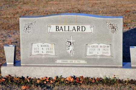 MCGRAW BALLARD, GLADILOU - Little River County, Arkansas | GLADILOU MCGRAW BALLARD - Arkansas Gravestone Photos