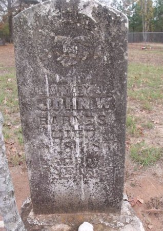 BARNES, JOHN W - Little River County, Arkansas | JOHN W BARNES - Arkansas Gravestone Photos