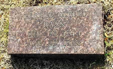 BASS, GEORGE ALBERT - Little River County, Arkansas | GEORGE ALBERT BASS - Arkansas Gravestone Photos