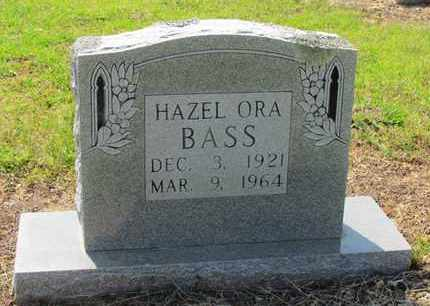 BASS, HAZEL ORA - Little River County, Arkansas | HAZEL ORA BASS - Arkansas Gravestone Photos