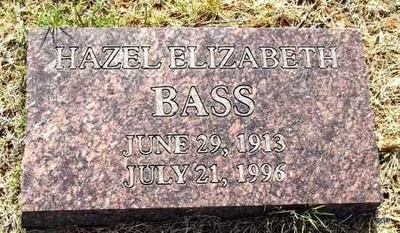 BASS, HAZEL ELIZABETH - Little River County, Arkansas   HAZEL ELIZABETH BASS - Arkansas Gravestone Photos