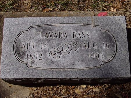 BASS, LAVADA - Little River County, Arkansas | LAVADA BASS - Arkansas Gravestone Photos