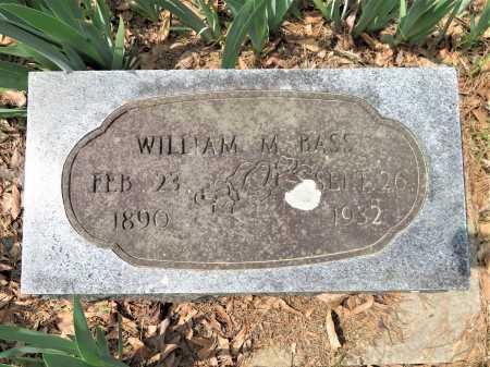 BASS, WILLIAM M - Little River County, Arkansas | WILLIAM M BASS - Arkansas Gravestone Photos