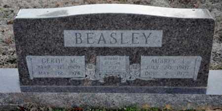 BEASLEY, AUBREY E - Little River County, Arkansas | AUBREY E BEASLEY - Arkansas Gravestone Photos