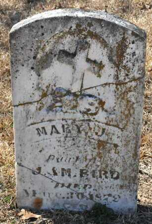BIRD, MARY J - Little River County, Arkansas | MARY J BIRD - Arkansas Gravestone Photos