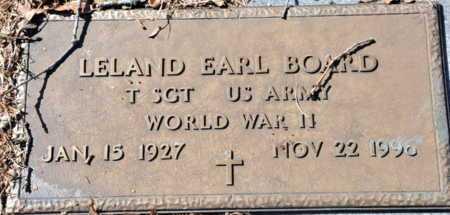 BOARD (VETERAN WWII), LELAND EARL - Little River County, Arkansas | LELAND EARL BOARD (VETERAN WWII) - Arkansas Gravestone Photos