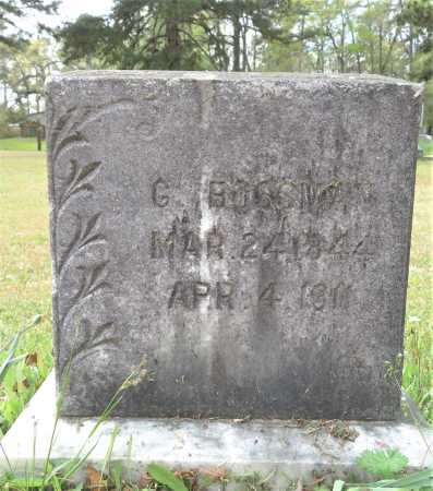 BOSSMAN, G - Little River County, Arkansas | G BOSSMAN - Arkansas Gravestone Photos