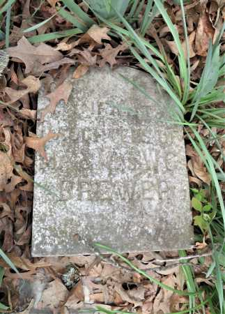 BREWER, INFANT DAUGHTER - Little River County, Arkansas | INFANT DAUGHTER BREWER - Arkansas Gravestone Photos