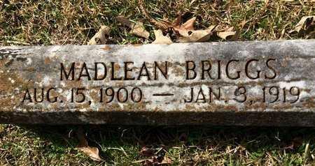 BRIGGS, MADLEAN - Little River County, Arkansas   MADLEAN BRIGGS - Arkansas Gravestone Photos