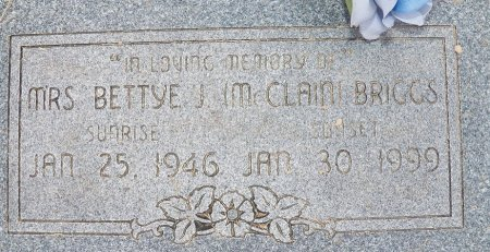 MCCLAIN BRIGGS, MRS, BETTY J. - Little River County, Arkansas   BETTY J. MCCLAIN BRIGGS, MRS - Arkansas Gravestone Photos