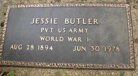 BUTLER (VETERAN WWI), JESSIE - Little River County, Arkansas | JESSIE BUTLER (VETERAN WWI) - Arkansas Gravestone Photos